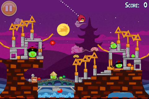 Angry Birds Seasons updated with 30 new Moon Festival levels, Mighty Eagle