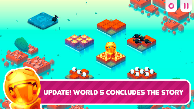 Divide By Sheep gets updated with another world of devious puzzles