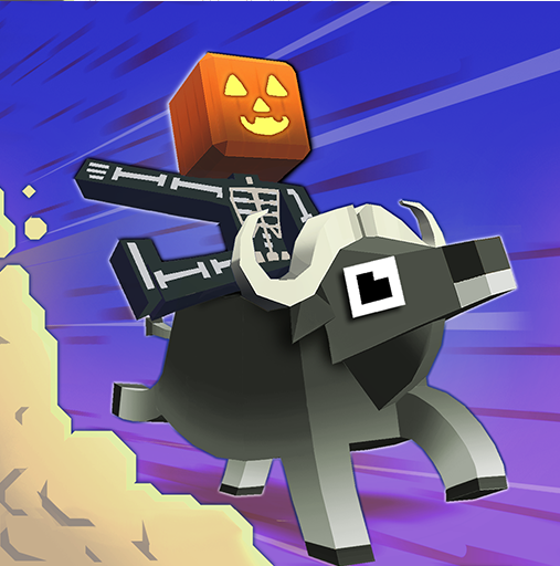 Animal-hopping endless runner Rodeo Stampede gets a spoooooky update