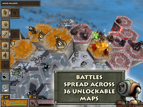Invictus brings award-winning console and PC turn-based strategy game Greed Corp HD to the iPad