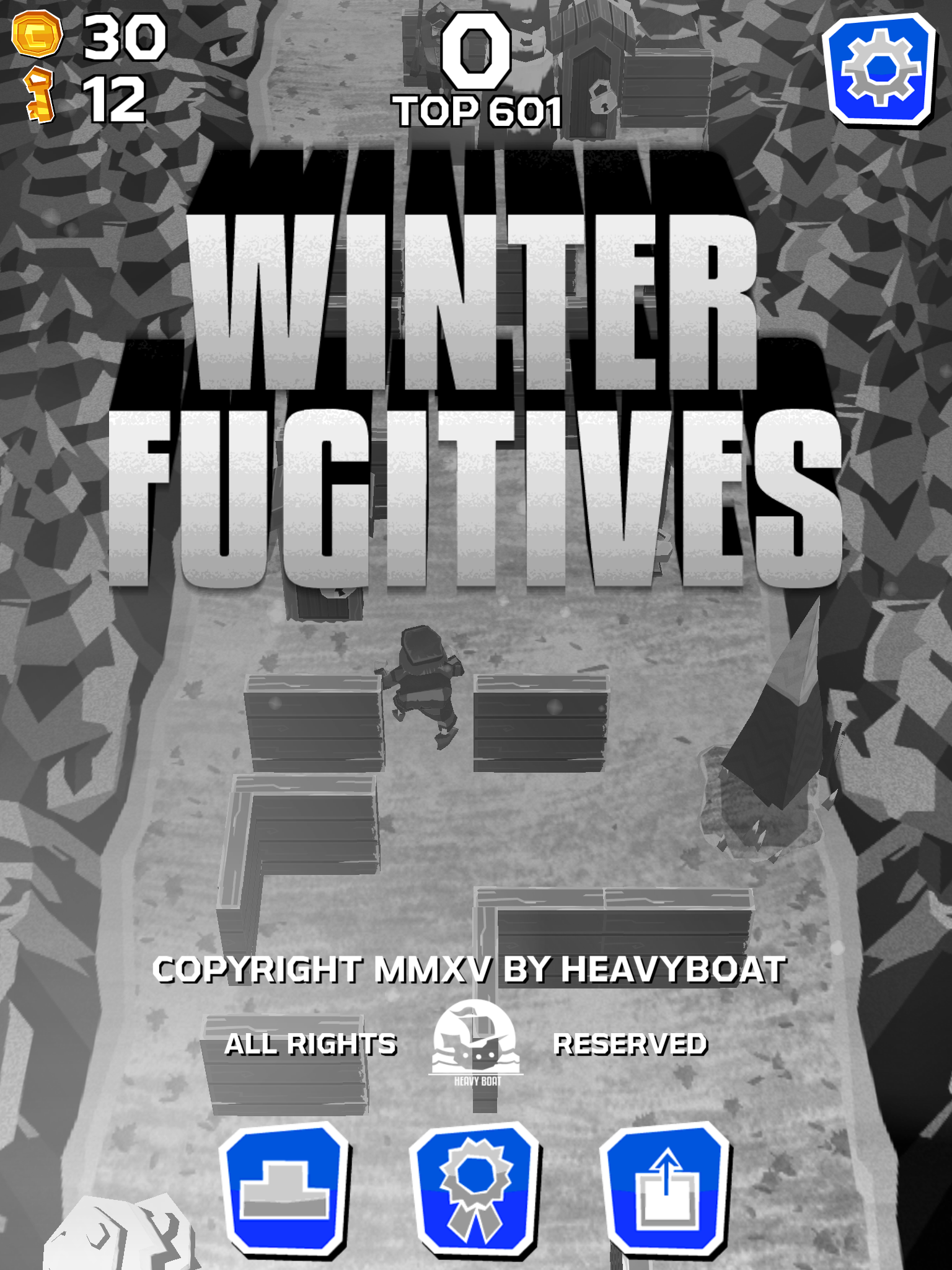 Winter Fugitives – Suspenseful and spectacular