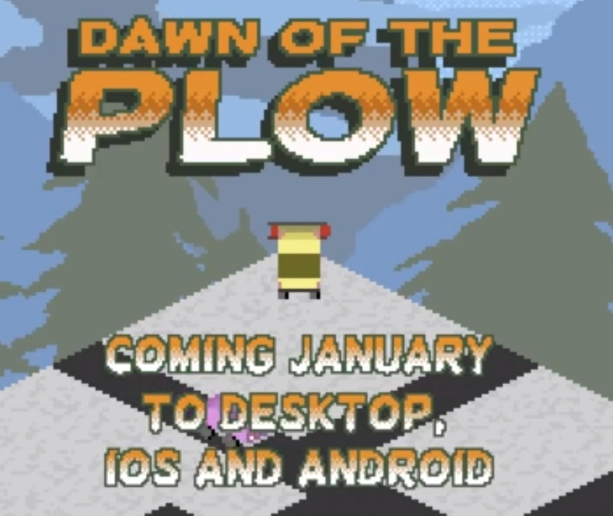 Dawn of the Plow is a new crazy snowplough sim for iOS and Android