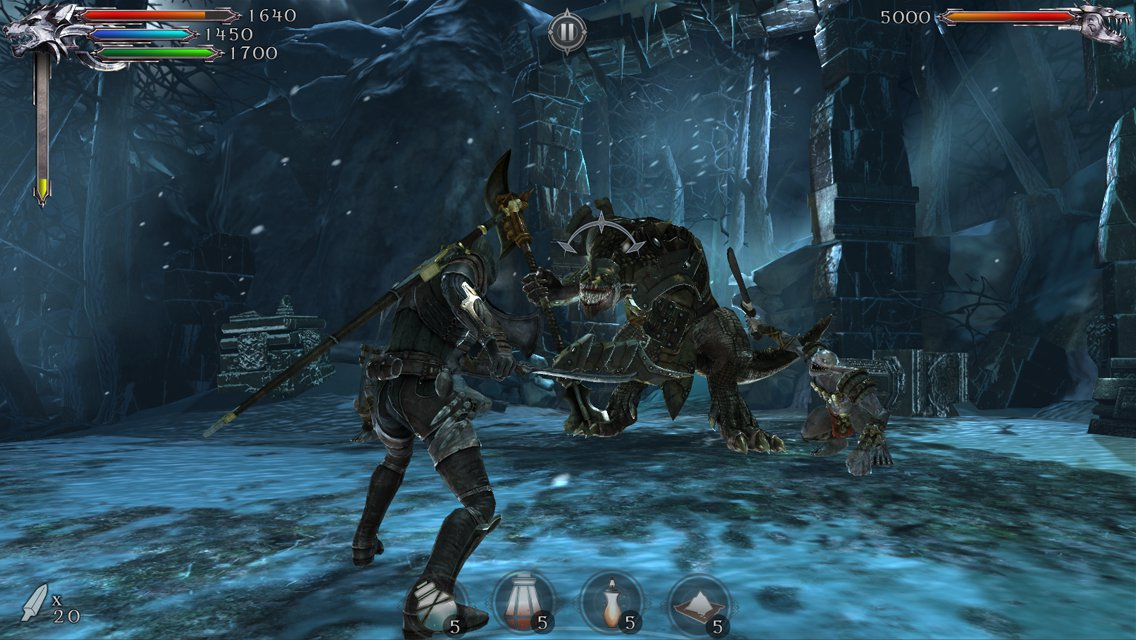 Chapter 2 of Joe Dever's Lone Wolf for iOS and Android is out now as an IAP