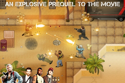 The A-Team explodes onto the App Store