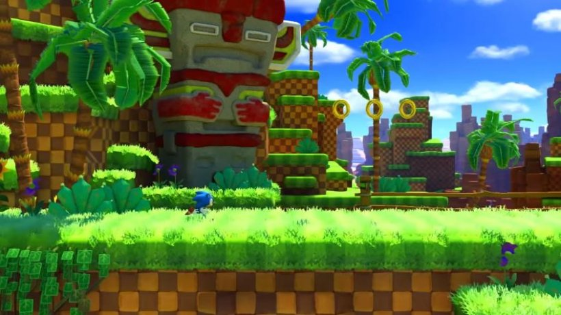 New Sonic Forces footage shows off a rather good-looking Green Hill Zone