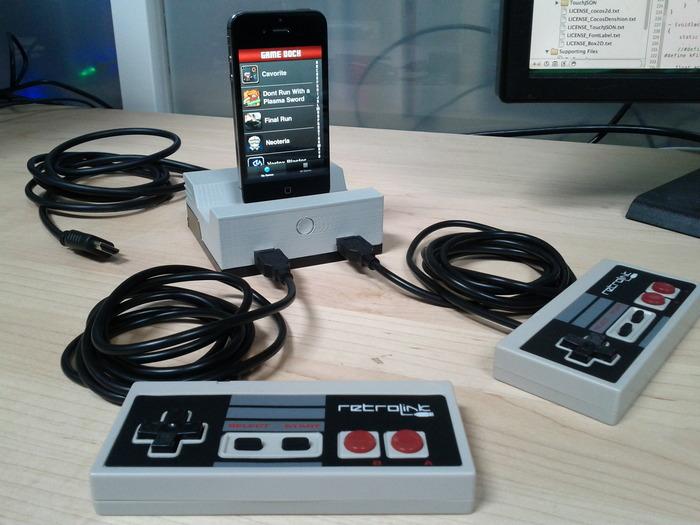 Cascadia Games turns to Kickstarter to fund retro iOS GameDock peripheral