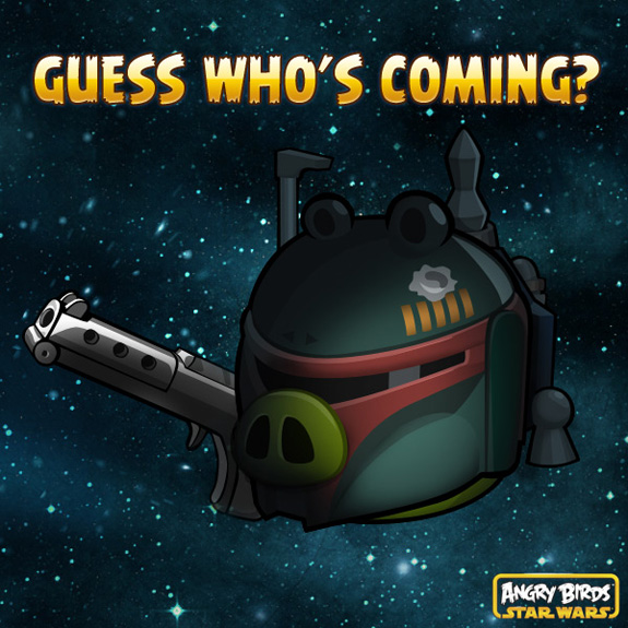 Hello, what have we here? Rovio teases Cloud City episode of Angry Birds Star Wars