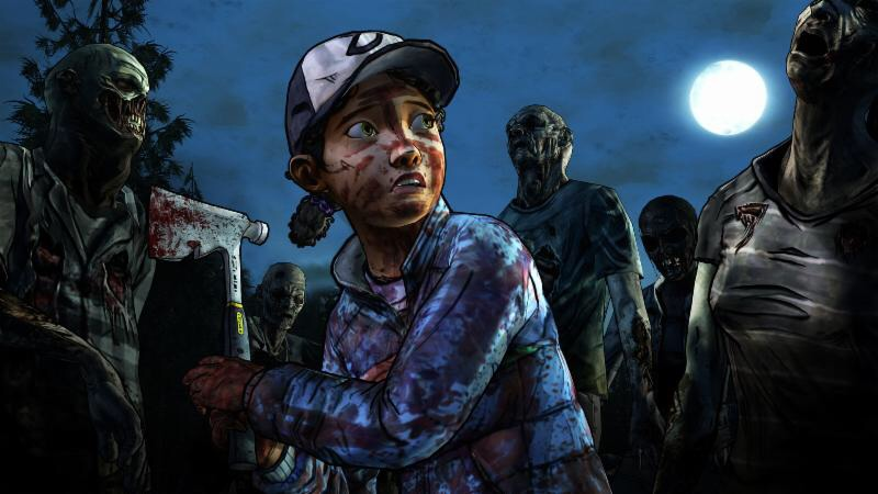 Episode 4 of The Walking Dead Season 2 takes shelter from a zombie invasion on the App Store