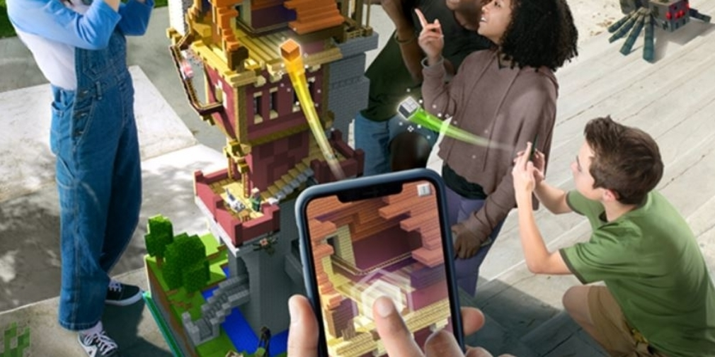 Minecraft Earth, an AR experience, announced to celebrate Minecraft's 10th Anniversary.