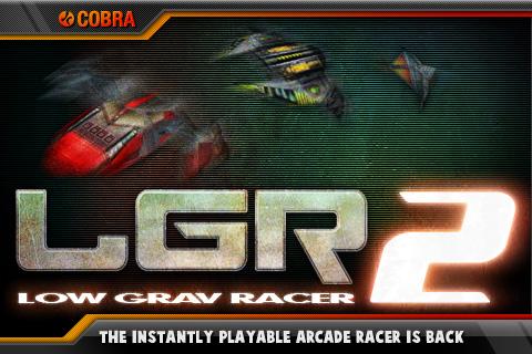 Free iPhone game: Low Grav Racer 2