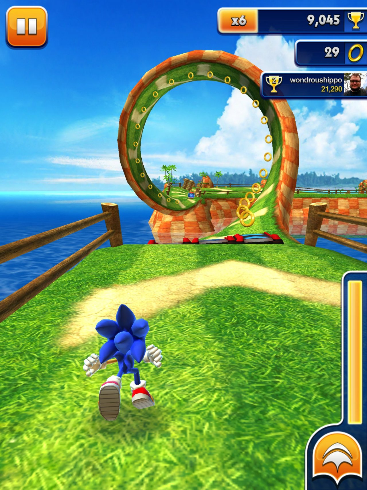Sonic Dash players can take on a Sonic Lost World boss for a limited time