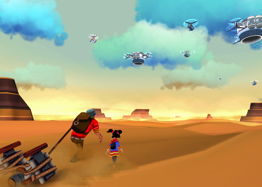 Cloud Chasers is a roguelite journey across harsh desert landscapes, releasing October 15th