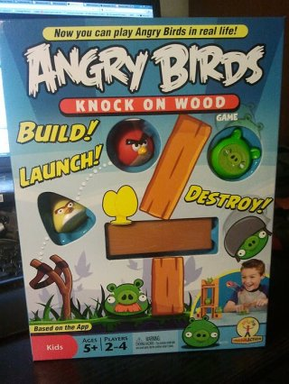 Angry Birds: Knock on Wood review