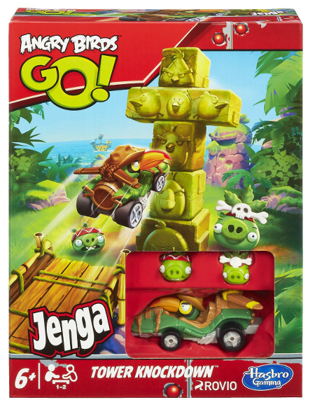 Angry Birds Go Tower Knockdown - toy guide