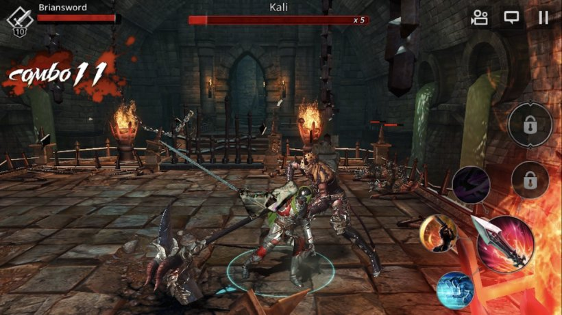 Darkness Rises review - An action slasher that's more midcore than hardcore