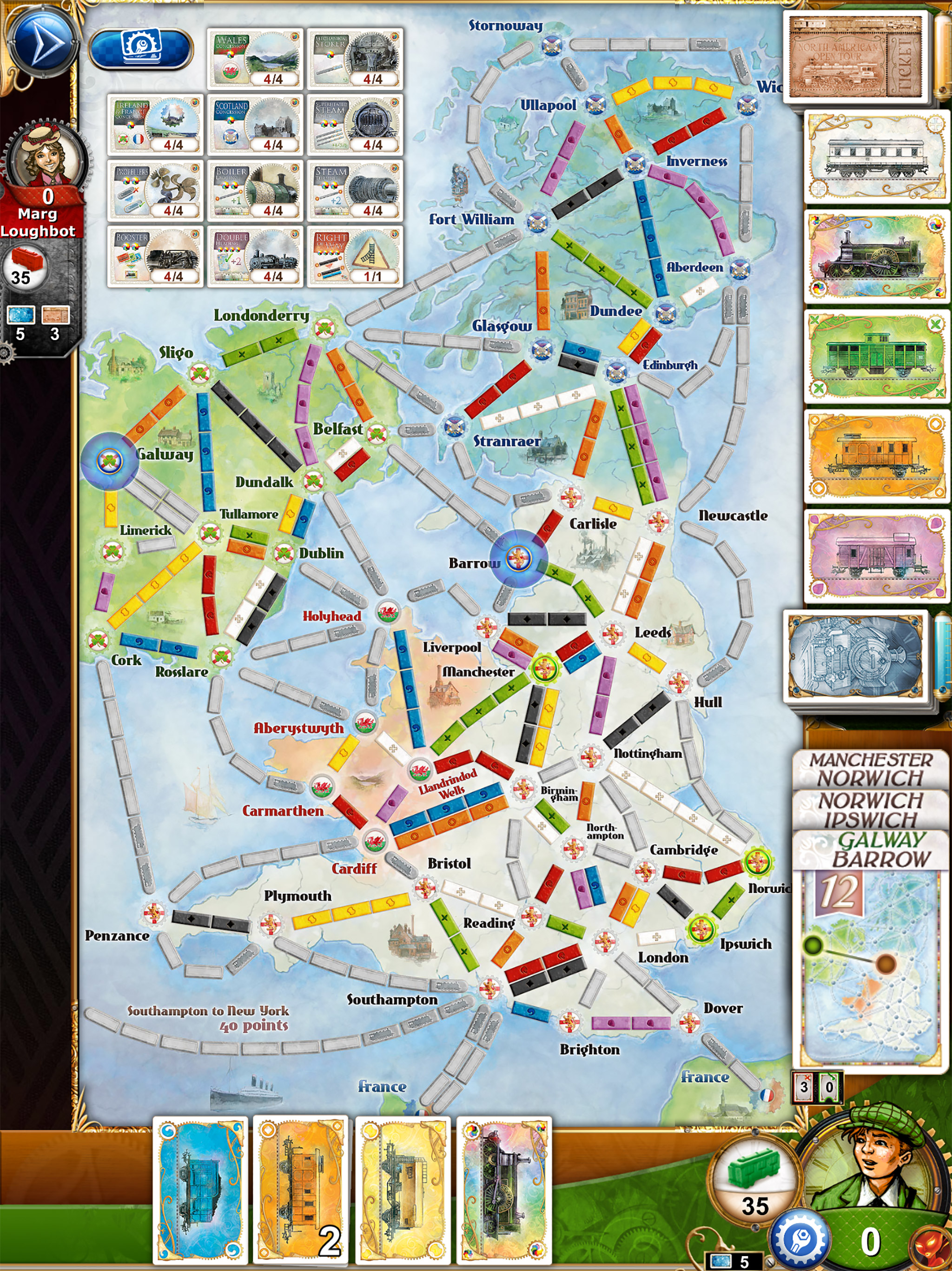 Missed our Ticket to Ride stream last night? Well you can catch up right here