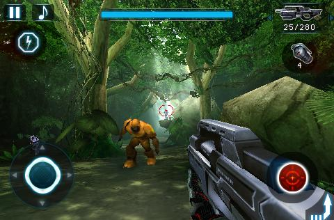 iPhone FPS N.O.V.A. updated for Retina display, gyroscope