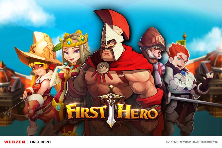 Build your own army of legendary fighters in First Hero, coming soon