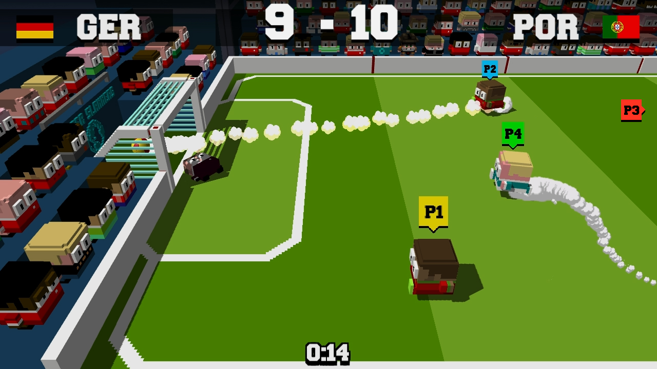 Soccer Slammers Switch review - A football game that's far too chaotic for its own good