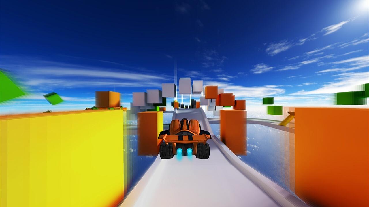 Gamescom '14 Quick Pick - Jet Car Stunts feels fast, frenetic, and in control on Vita