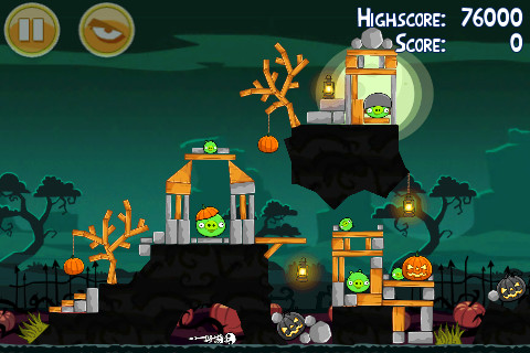 Angry Birds Seasons on iPhone and iPad gets new levels, bird, achievements in Halloween update