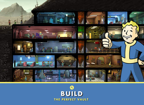 Fallout Shelter has been updated with some Thanksgiving goodies on iOS and Android