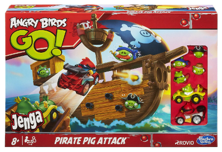Angry Birds Go Jenga Pirate Pig Attack - toy guide
