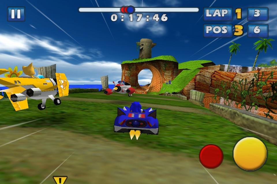 iOS smash Sonic & Sega All-Stars Racing reduced to £1.49/$1.99