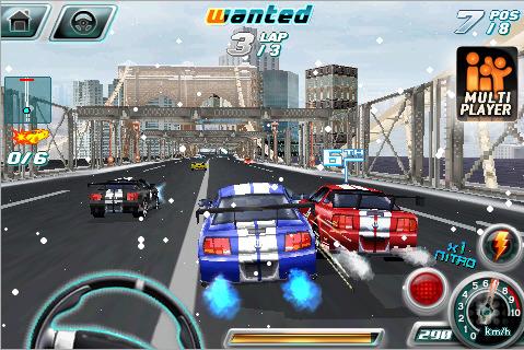 Asphalt 4: Elite Racing (iPhone)