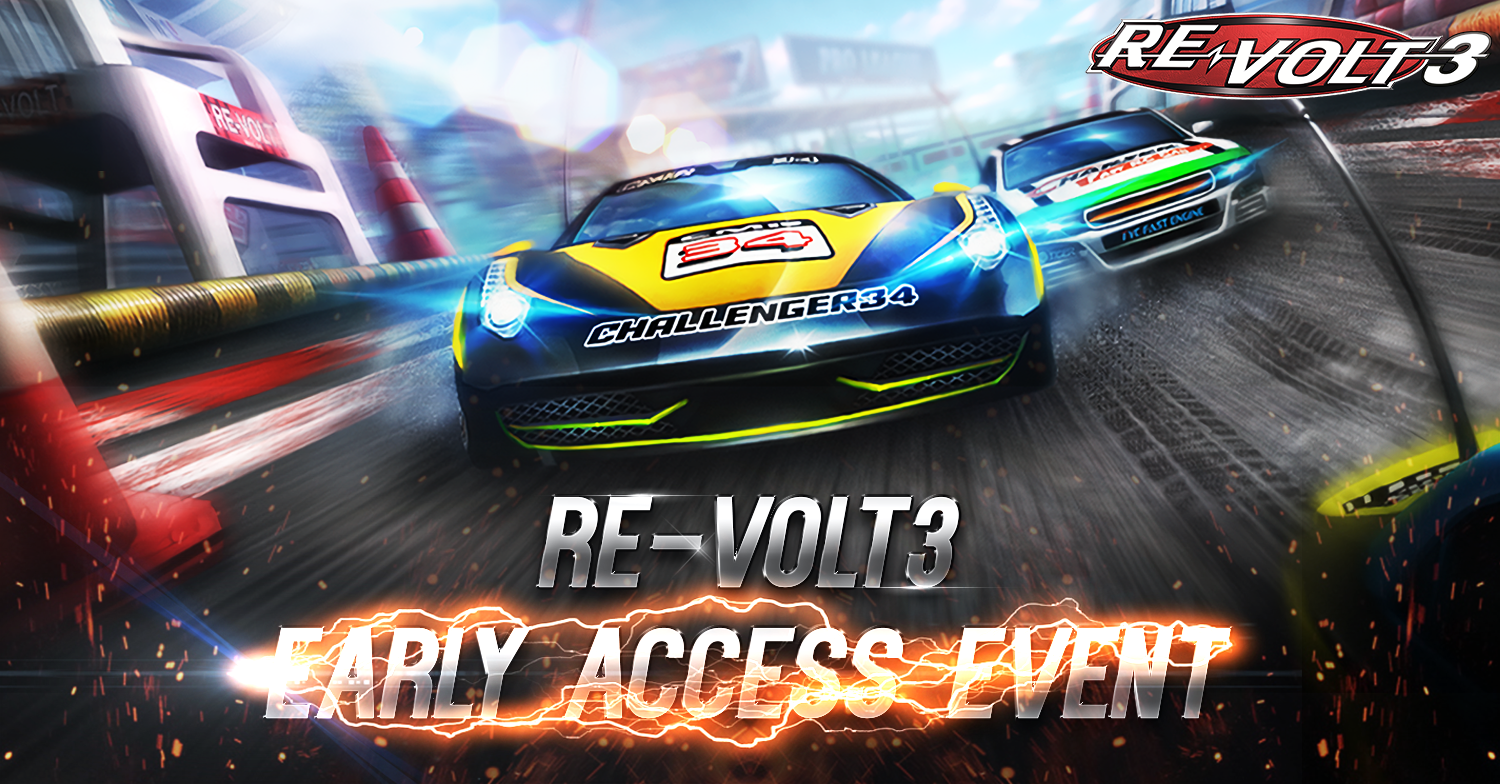 Early access event allows you to take Re-Volt 3 out for a test drive