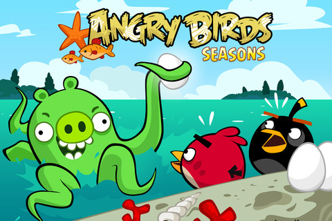 Angry Birds Seasons update 'Piglantis' now available