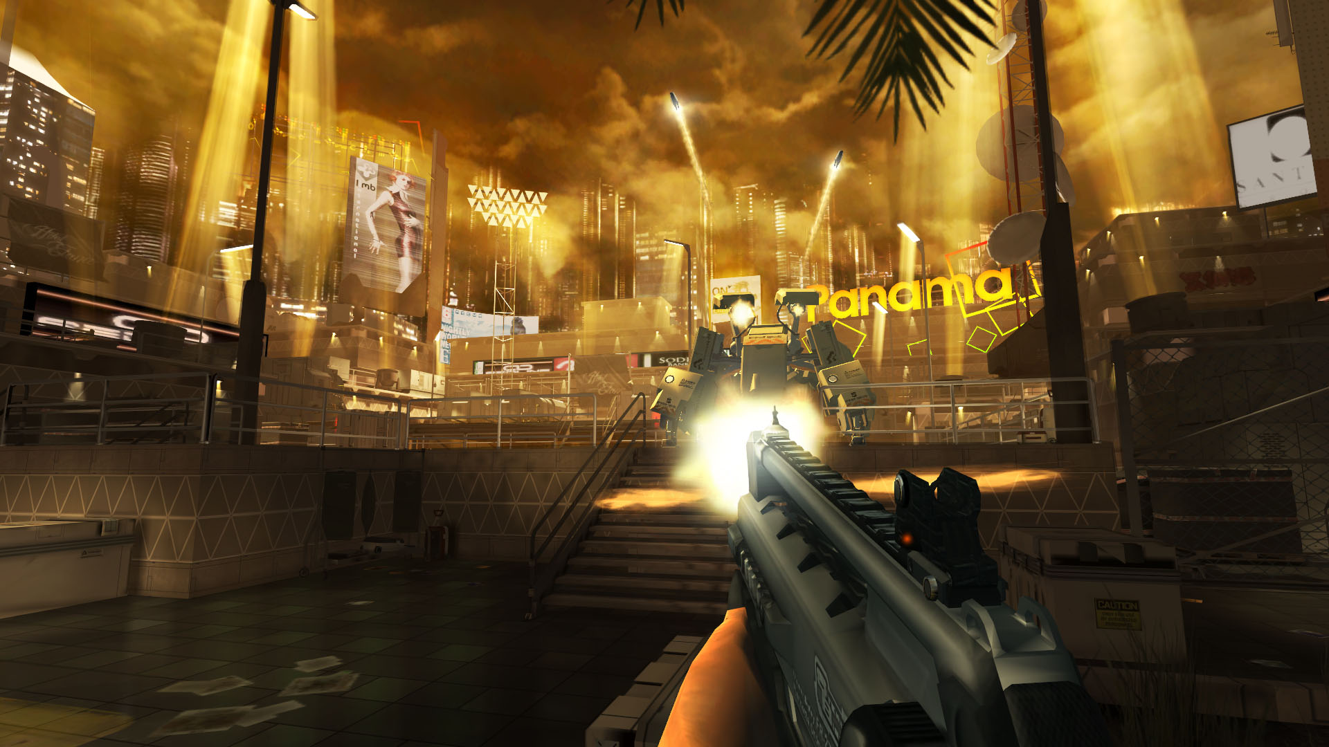 [Update] Square Enix lifts the veil on new iOS first-person shooter Deus Ex: The Fall