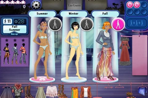 JoJo's Fashion Show 2 update has OpenFeint and in-app purchases