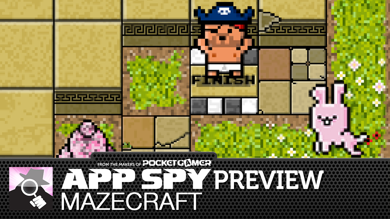 Mazecraft lets you build cruel puzzles to test the gaming prowess of your mates