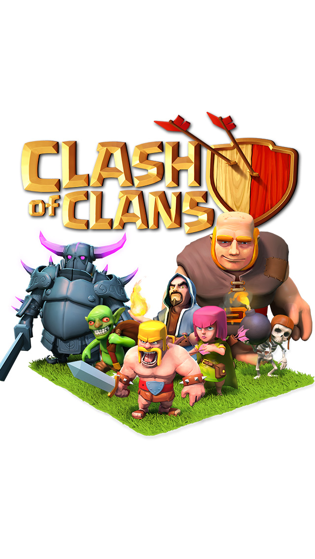 Clash of Clans iPhone 5 Wallpaper