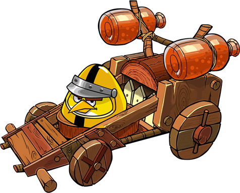 How to master kart combat in Angry Birds Go!