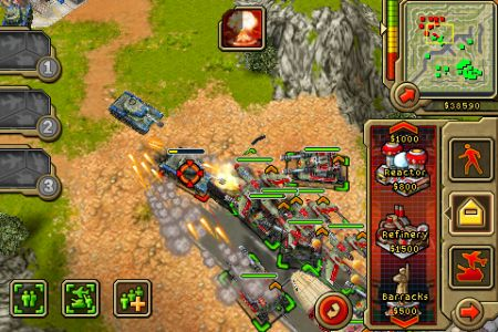 Multiplayer and add-on map packs for iPhone's Command & Conquer: Red Alert