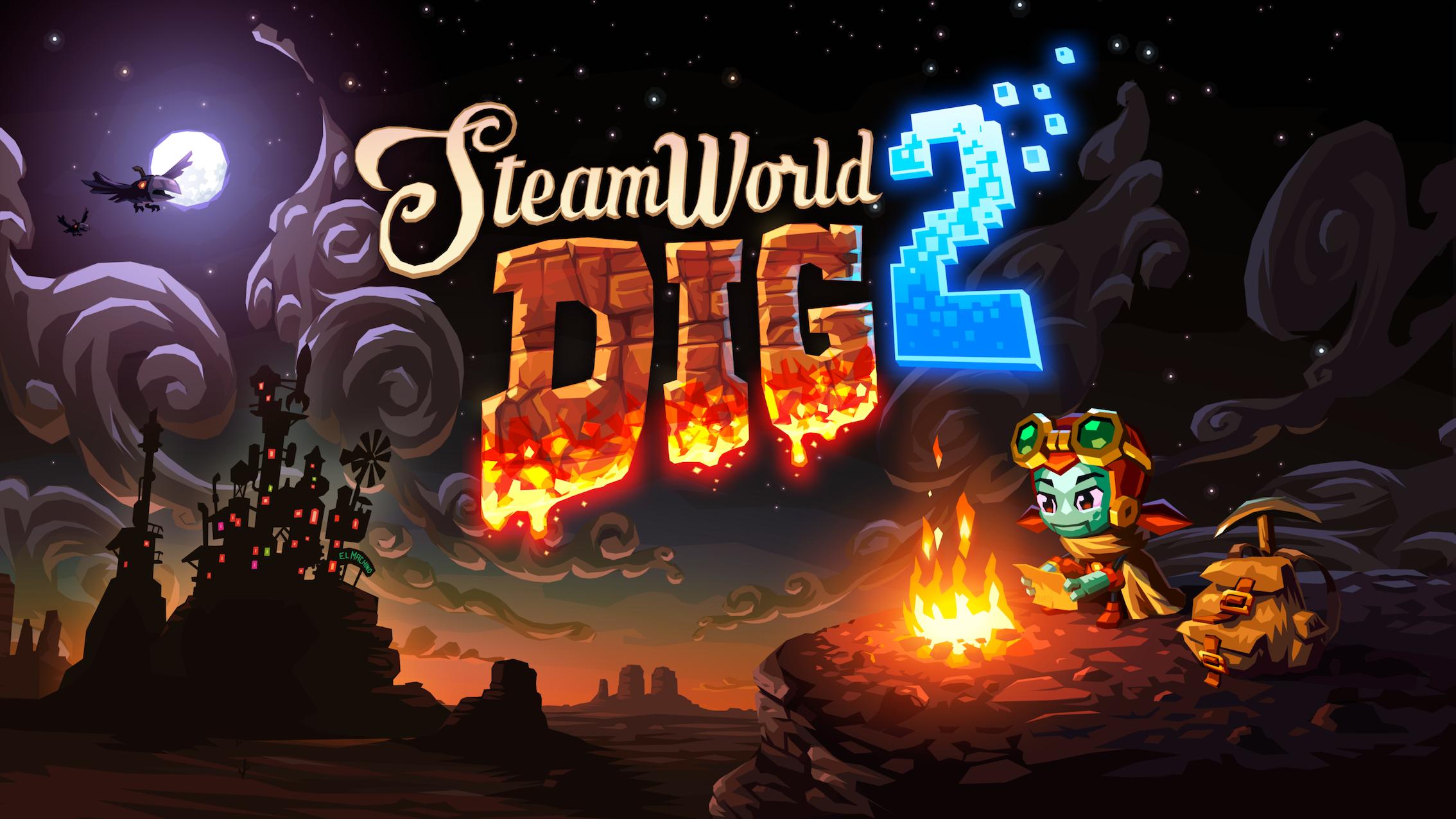 Subterranean metroidvania Steamworld Dig 2 burrows onto Nintendo Switch next month