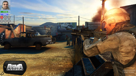 ARMA Tactics is now available on the App Store and for non-Tegra Android devices