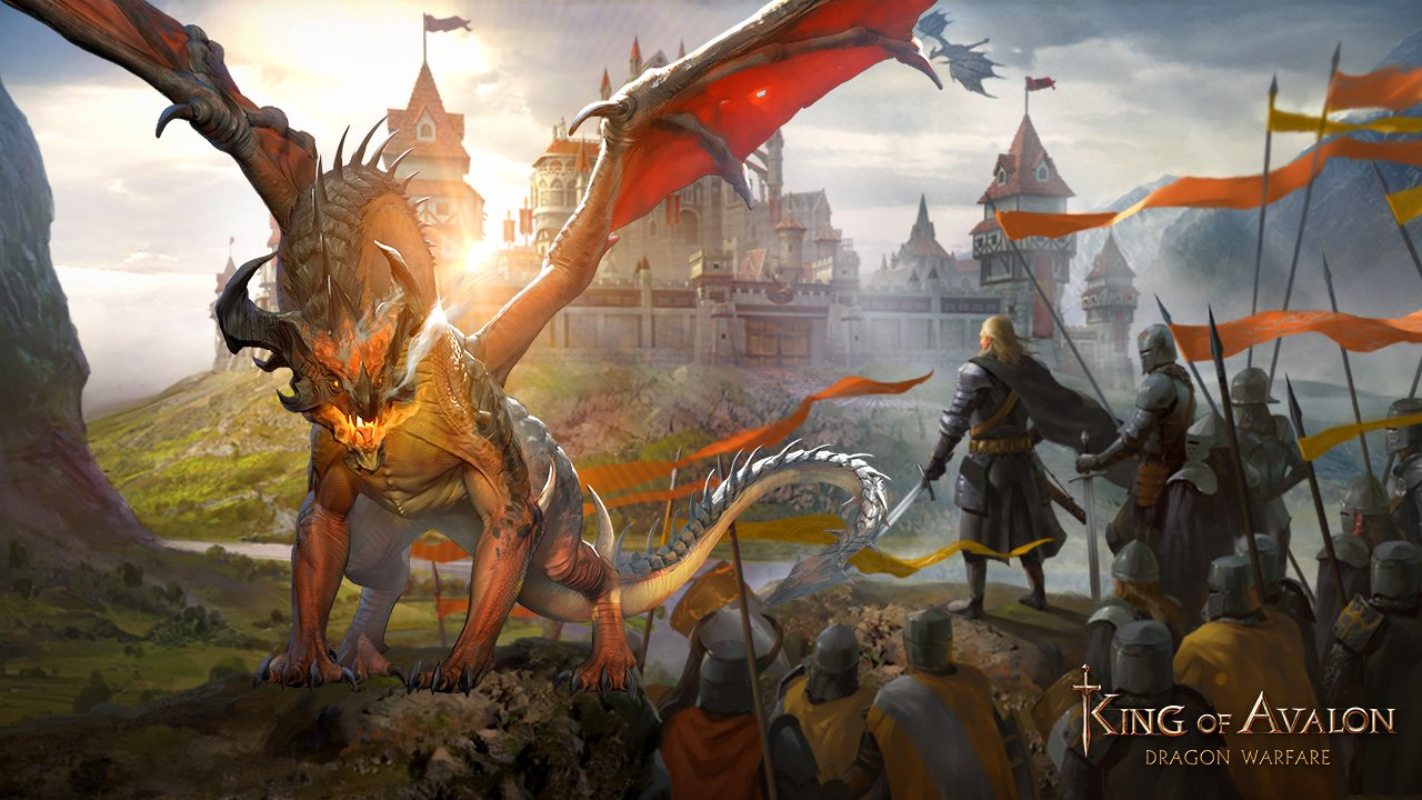 Awake the dragon spirit within you and claim victory in King of Avalon's new year update