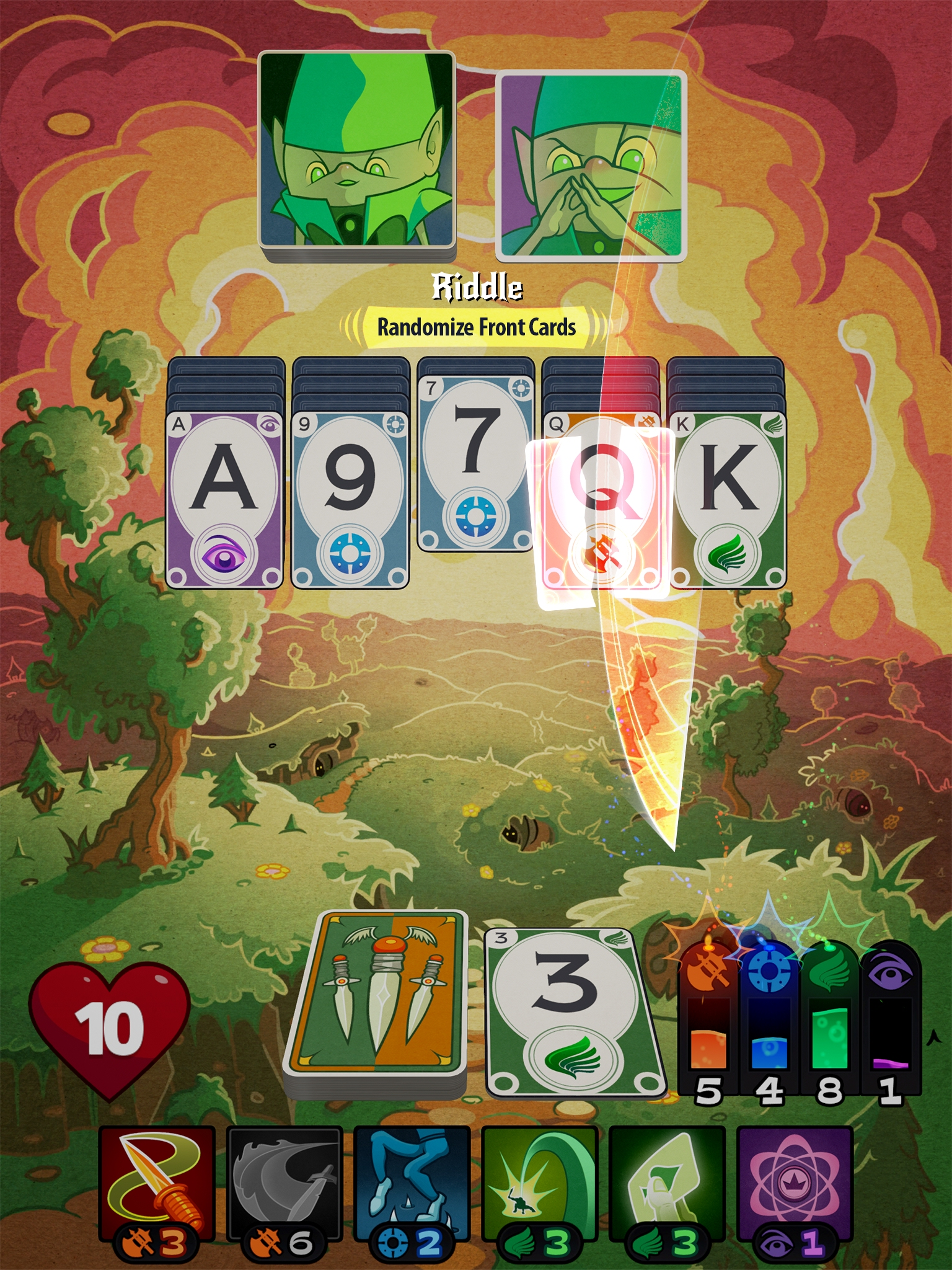 Roguelike card game Solitairica drops to £1.99 / $1.99 once again
