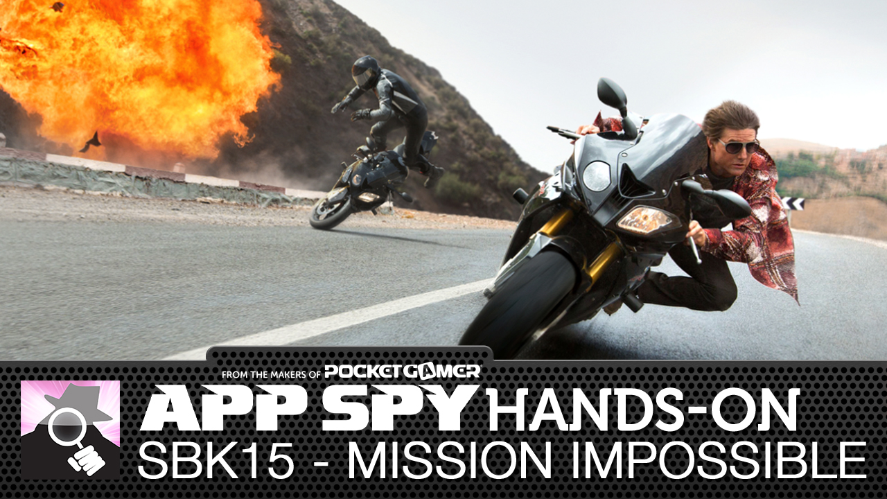 Mission: Impossible - Rogue Nation collides with motorbike sim SBK15
