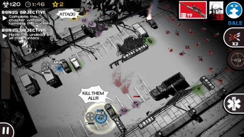 Relive the events of Robert Kirkman's award-winning comic book series on Android in The Walking Dead: Assault