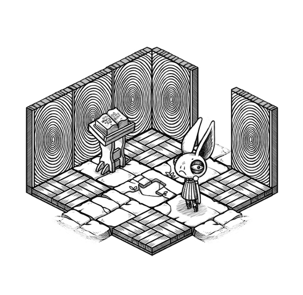 Oquonie is an upcoming mysterious isometric puzzler with impossible spaces galore