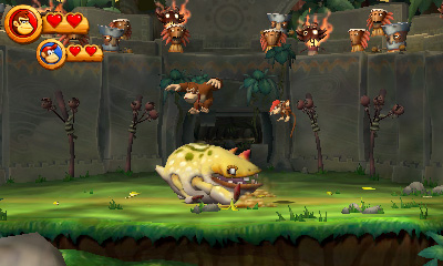 What's heading to 3DS? Hands-on with Donkey Kong Country Returns 3D, Animal Crossing: New Leaf, and more
