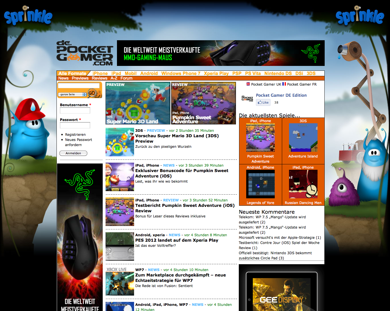 Pocket Gamer Germany is live