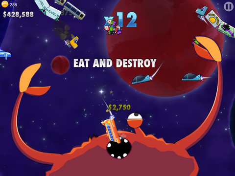 Play puppeteer to a space crab in Crabitron, then follow its success on 'Crabstarter'