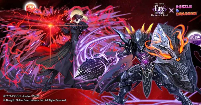Puzzle and Dragons' Fate crossover event is due to end soon