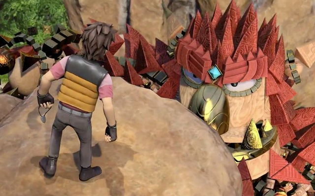 Sony unveils a free iOS and Android companion game for PS4 game Knack