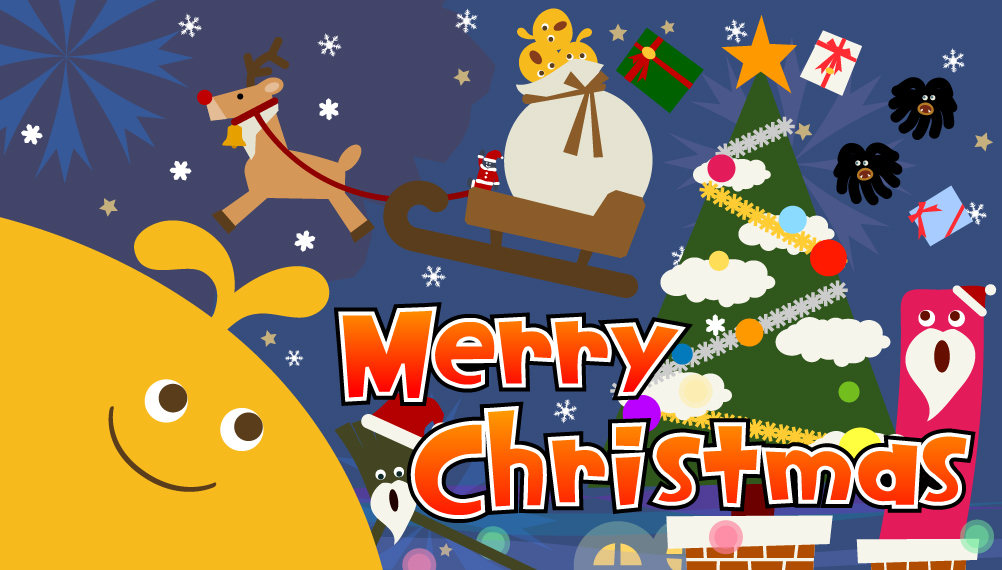 Free LocoRoco Christmas level